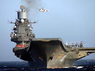 kapal induk Rusia, Admiral Kuznetsov