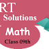 NCERT Solutions for Class 9 Math