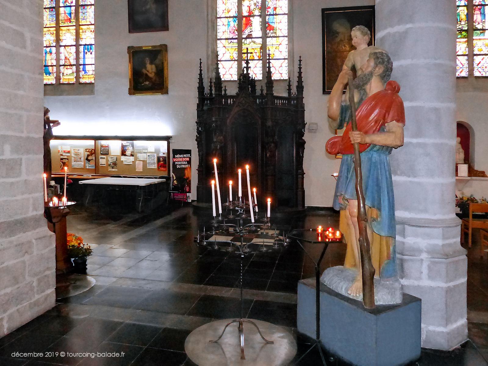 Statue de Saint Christophe, Tourcoing 2019