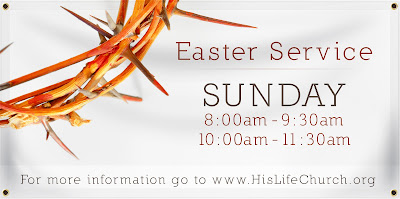 Easter Service Banner | Banners.com