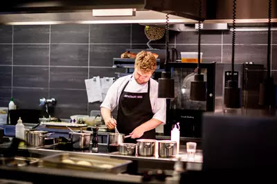 How chefs organise their kitchen
