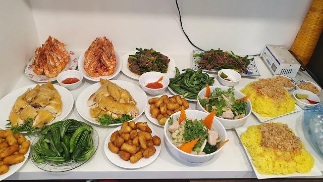 dịch vụ nấu cỗ tại nhà Thanh Xuân