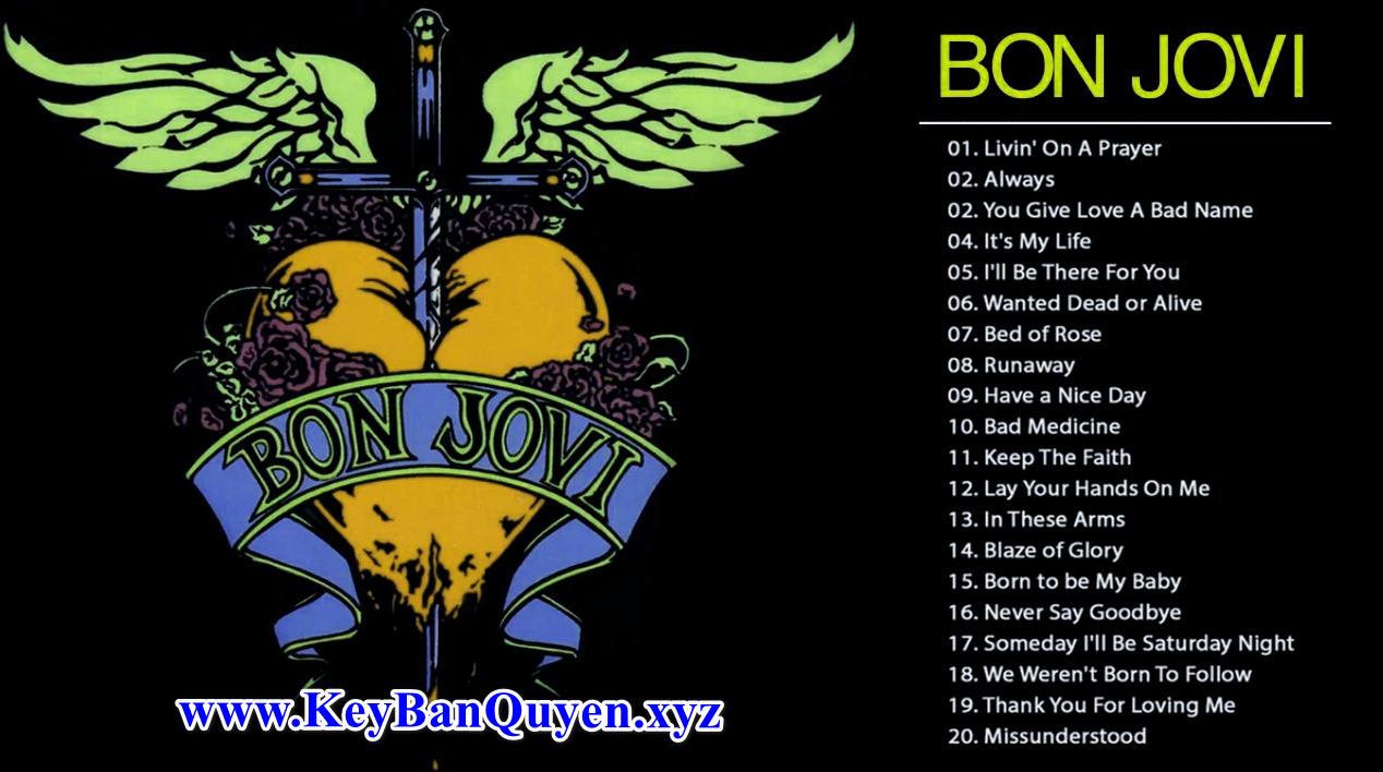 Tổng hợp Video nhạc HD của nhóm Bon Jovi