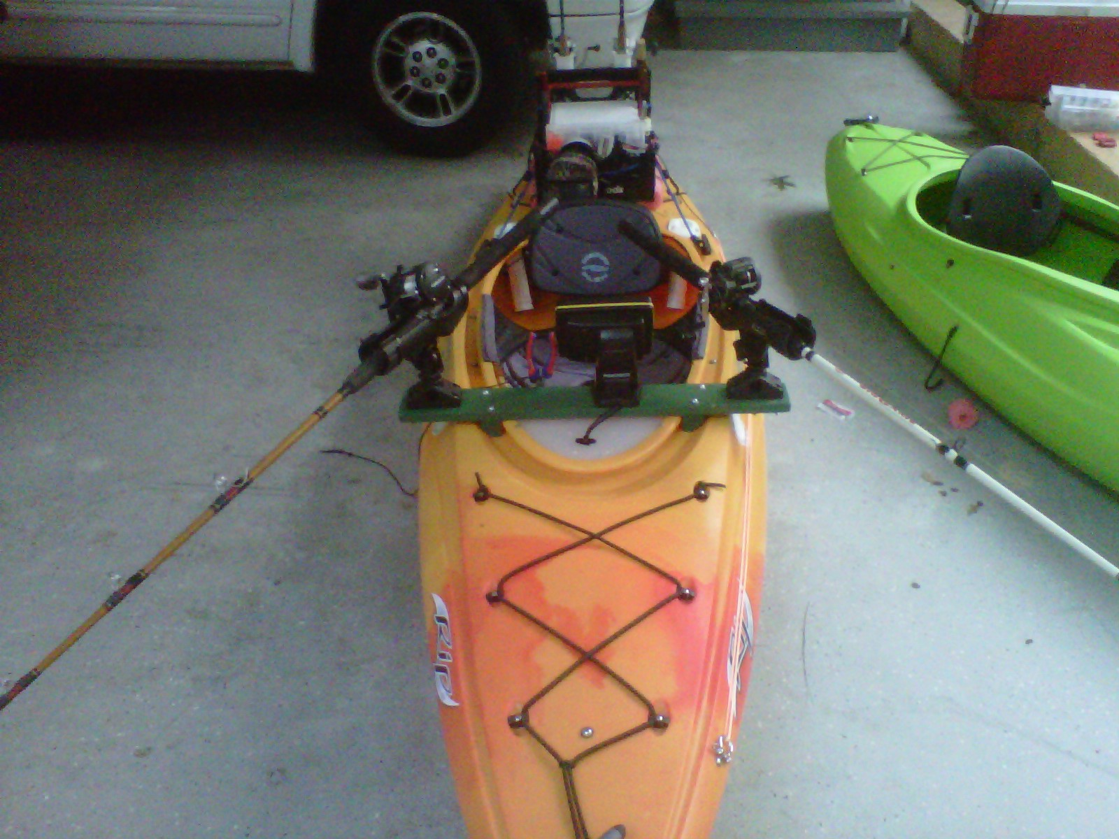 Tight Lines And Plastic Boats Rigging A Sit Inside Kayak For Fishing