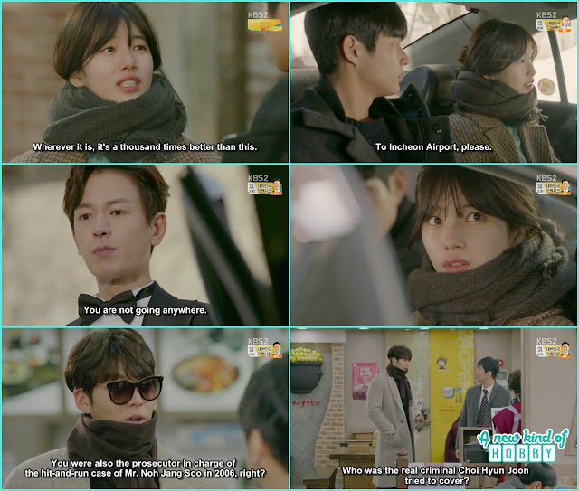 Ji Taek stop No Eul from leaving - Uncontrollably Fond - Episode 11 Review - Kdrama 2016