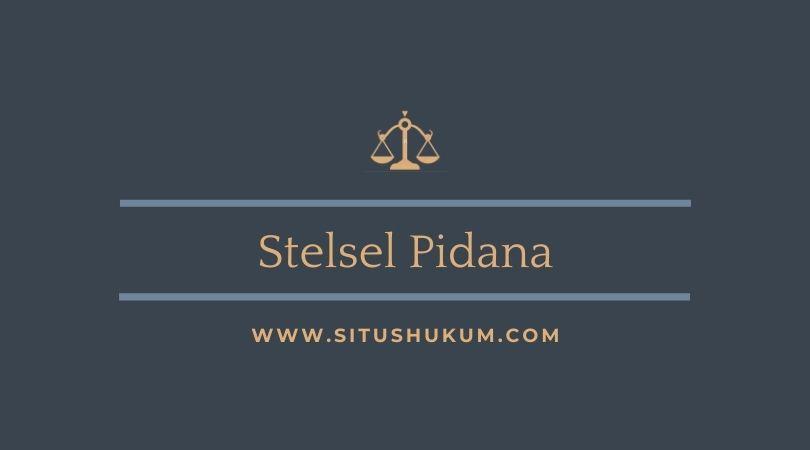 Stelsel Pidana