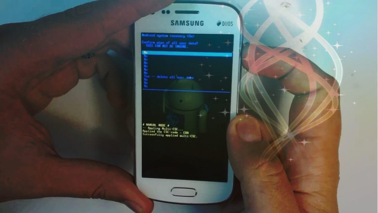 حل مشكلة توقف هاتف سامسونج عن شاشة سوداء أو توقف الهاتف عند