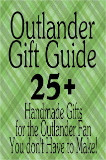 Do you have an Outlander fan on your Christmas list? Check out these great handmade gifts that make you look like you spent a ton of time on the gift, while supporting small business.  These Outlander gifts are the perfect Christmas gifts. #outlander #giftguide #christmasgift #outlandergift