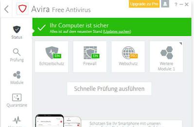 برنامج Avira Antivirus