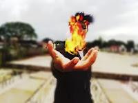 Cara Edit Foto Di Pics Art Tutorial Membuat Efek Api Di Tangan