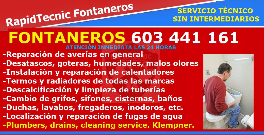 Rapidtecnic Alicante Fontaneros Urb Jardín Del Mar Iv Torrevieja