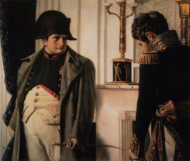 Василий Васильевич Верещагин - Наполеон и маршал Лористон (Мир во что бы то ни стало). 1899-1900