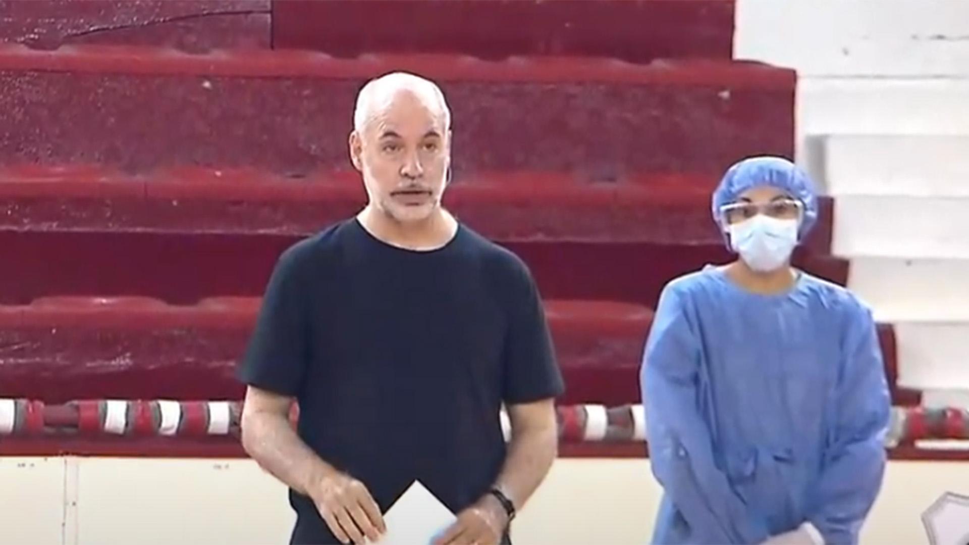 Reapareció Larreta luego de recibir el alta por coronavirus y confirmó un rebrote en la Ciudad