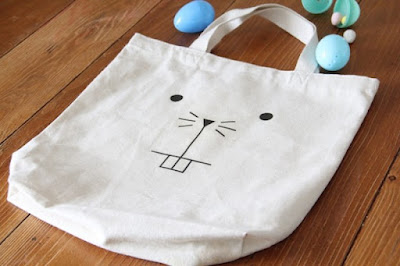diy tote, bunny tote, easter, easter crafts, diy easter, diy projects, do it yourself projects, diy, diy crafts, diy craft ideas