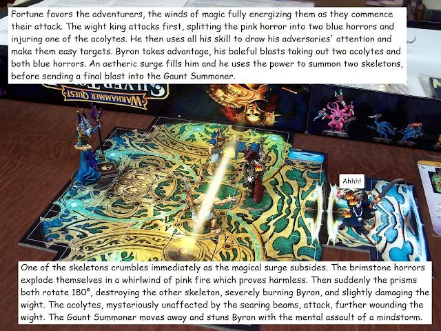 warhammer quest silver tower final trial