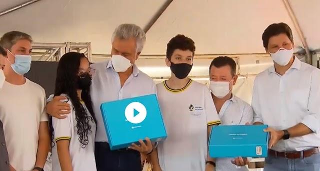 Gestão Dr. Lucas Prefeito - Águas Lindas recebe investimentos em Educação e Infraestrutura