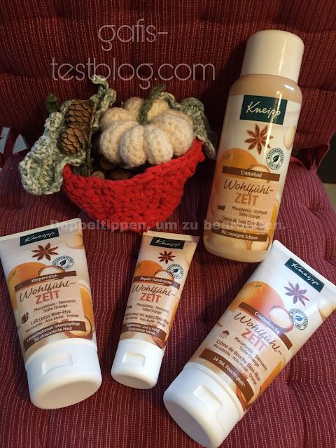 Kneipp Wohlfühlzeit: Cremebad, Körpermilch, Cremedusche, Handcreme
