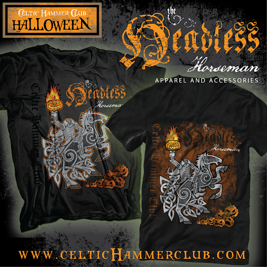 Celtic Headless Horseman