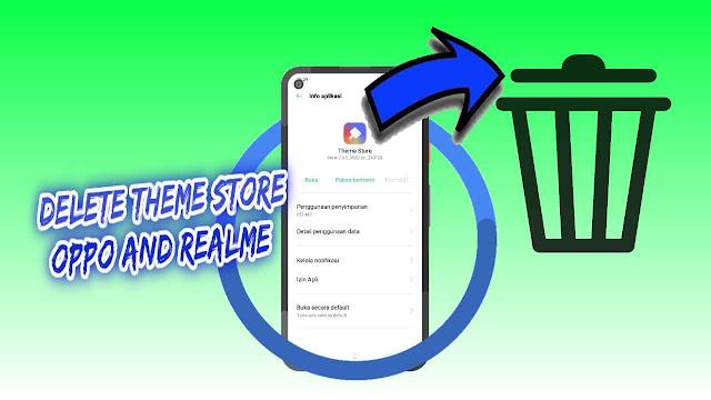 2 Cara mengembalikan Theme Store Oppo ke Versi Lama
