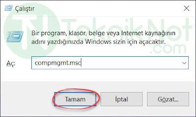 Bilgisayar Yönetimi