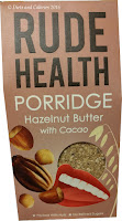 Rude Health Porridge Hazelnut Butter with Cacao