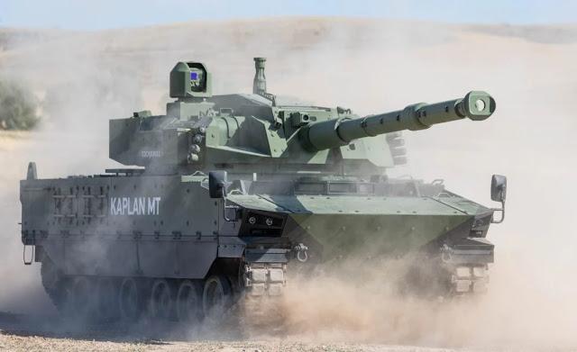 Tank hạng trung mới của hãng FNSS