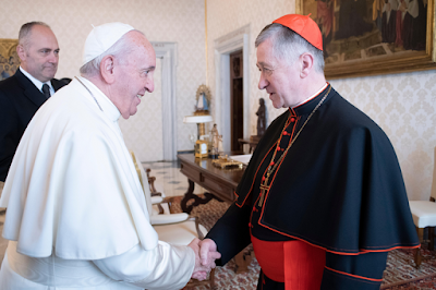 Cupich and Pope Francis