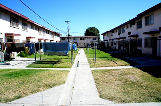 Jordan Downs Public Housing Project Housing Authority City of Los Angeles