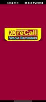 KD-reCall: Splash screen
