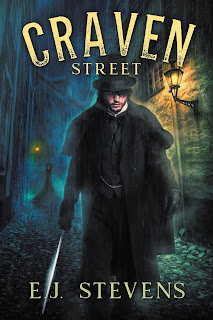 Craven Street Whitechapel Paranormal Society by E.J. Stevens gaslamp fantasy