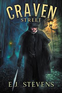 Craven Street Whitechapel Paranormal Society by E.J. Stevens gaslamp fantasy