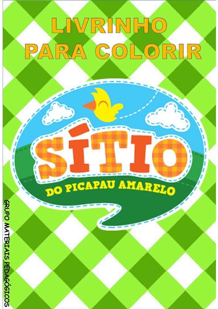 LIVRINHO PARA COLORIR - SÍTIO DO PICAPAU AMARELO