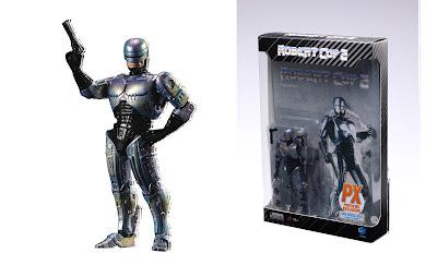 San Diego Comic-Con 2021 Exclusive Robocop 2 Robert Cop 1/18 Exquisite Mini Action Figure by Hiya Toys