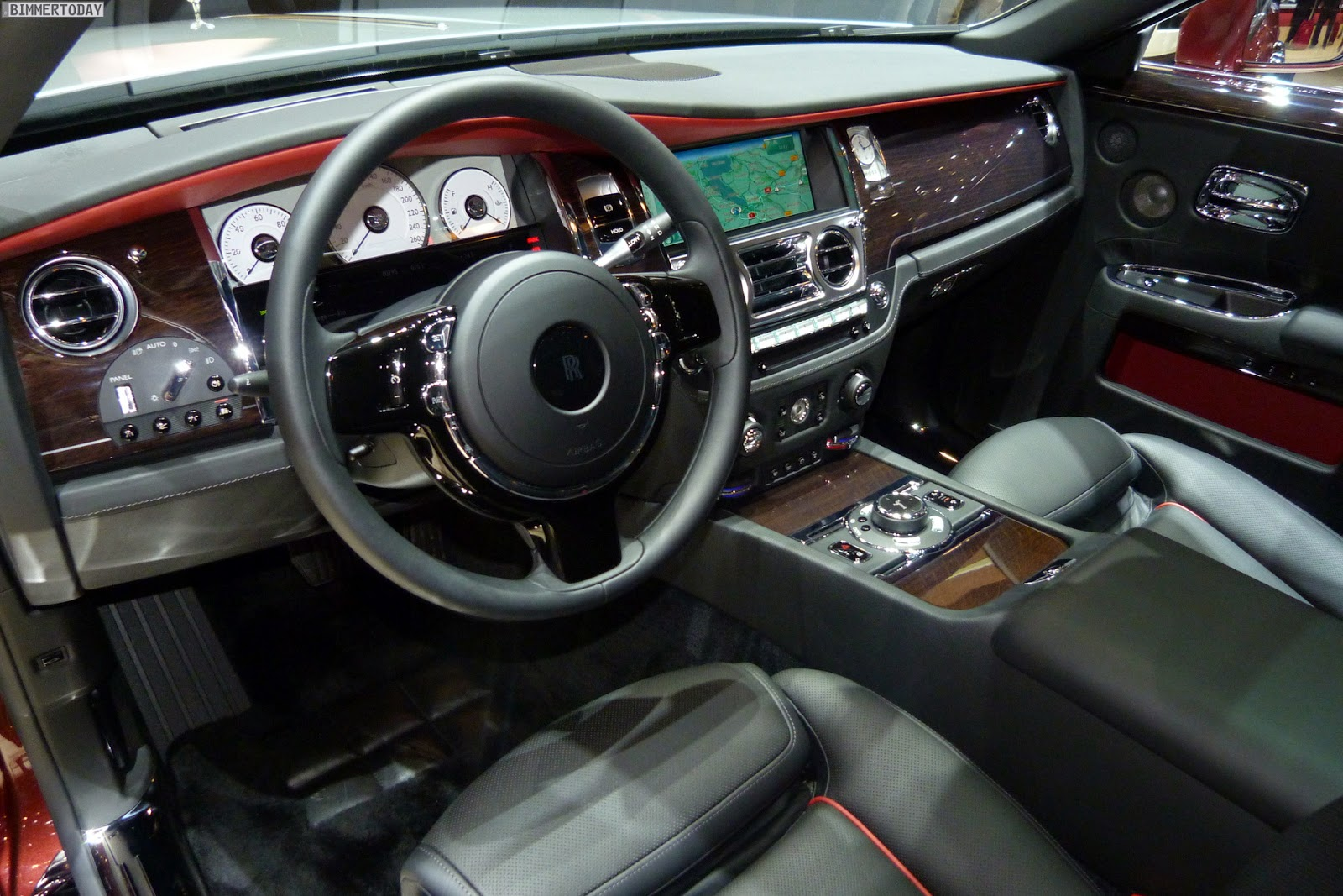Roll Royce Ghost Series II, interior