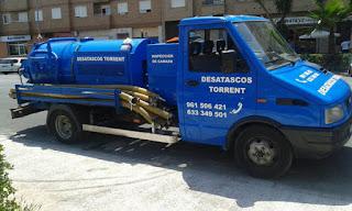 Empresa de limpieza de fosas sépticas en Valencia