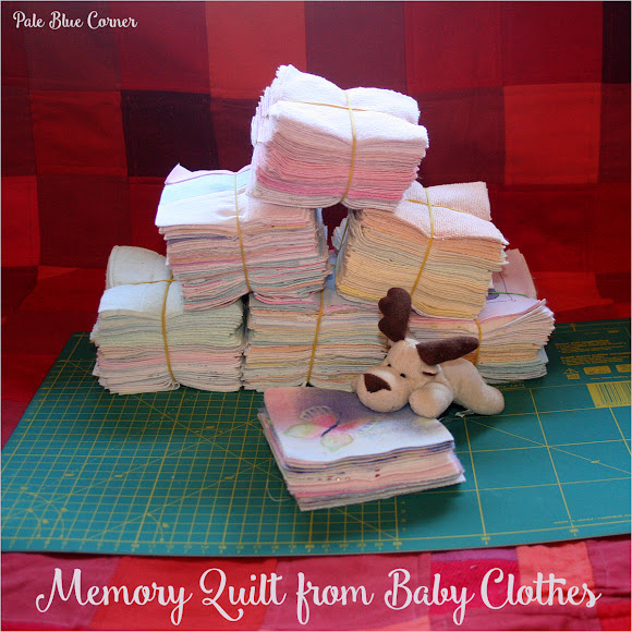Memory Quilt from Baby Clothes