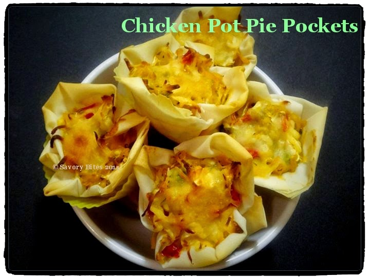 Chicken Pot Pie Pockets