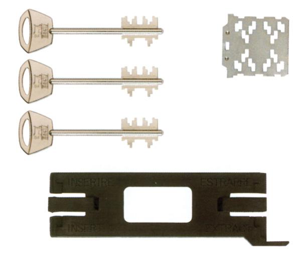 Συνδυασμός αλλαγής κλειδιών Mul-t-lock Matrix