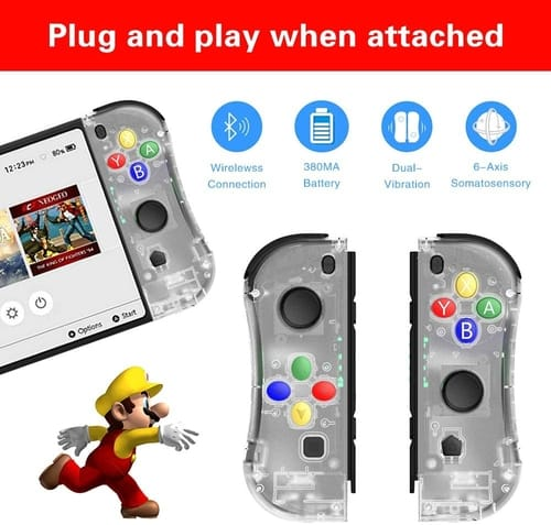 THAVENFLY Nintendo Switch Joy Con Controller Replacement
