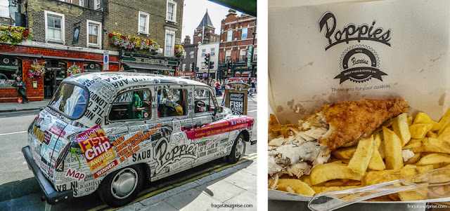 Londres, Poppies Fish&Chips