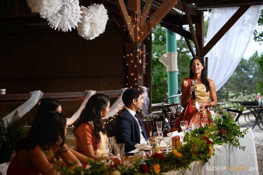 Outdoor Indian Wedding Decorations at German Park Jazz Music SudeepStudio.com Ann Arbor Indian Wedding Photographer
