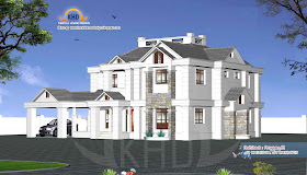 Indian Home 3d Elevation