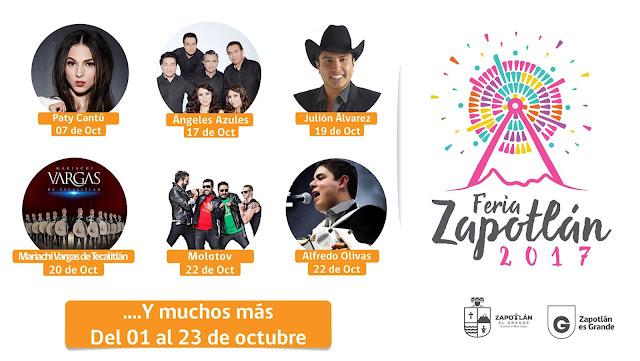 artistas feria zapotlán 2017