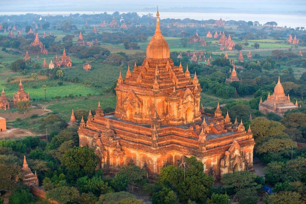 Буддистские храмы в Мьянме, Баган