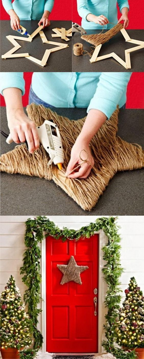 Easy Last-Minute DIY Christmas Decorations