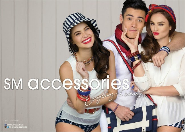 Sm Accessories Summer 2014 With Anne Curtis Daniel Padilla And The Rest Of The Gang