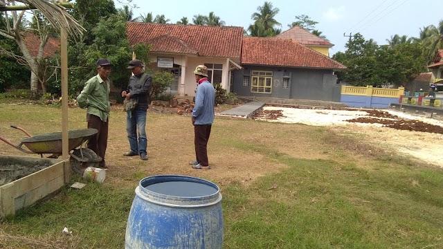 Warga Desa Bojong Soroti Anggaran Pembangunan Lapang Volley Ball