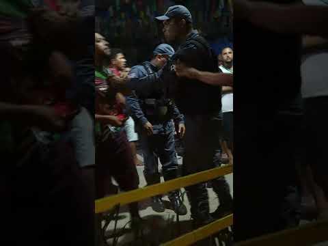 Policial agride jovem com tapa no rosto é murradas nas costa e população Cajari pedi afastamento do policial