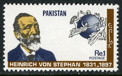 Pakistan Heinrich von Stephan