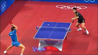 Teknik Dasar Permainan Tenis Meja Side Stance